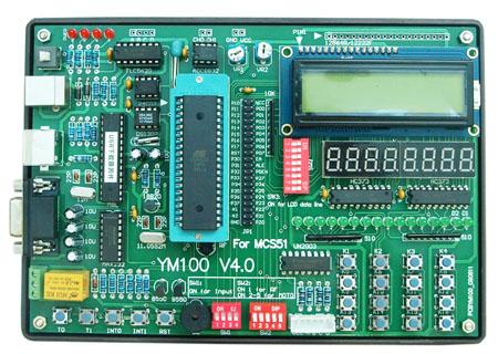 教学实验开发板/单片机学习板-深圳得技通电子有限公