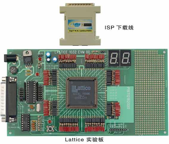 isp下载线严格按照lattice公司提供的电路